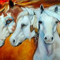 WARRIORS THREE by Marcia Baldwin