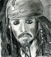 Johnny Depp as Jack Sparrow Portrait