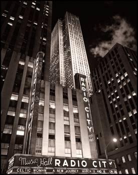 Radio City Music Hall By James Howe
