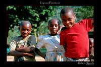 Village kids in the Rwenzori foothills, Uganda