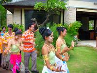 Songkran Dance at Le Meridien Khao Lak Beach & Spa