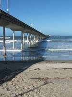 Fishing Pier on the San Diego Coast