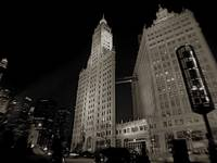 Wrigley Building, Night