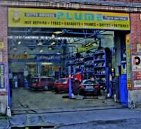 Plume's Garage, Belper, Derbyshire