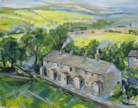 English Village Scene (Tockholes, Lancashire)