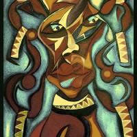 """African woman"" by Flowie"