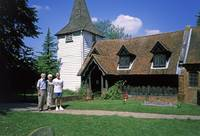 Oldest Extant Wooden Saxon Church, Ongar, Essex