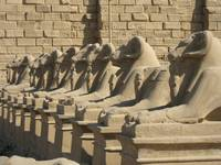 Avenue of the Lions Karnak Temple