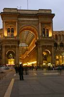 Galleria Vittorio Emanuele at Night