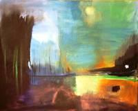 Impressions 1 30x24 by Leyla Murr