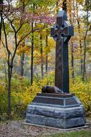 Irish Brigade Monument in Fall
