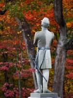 Soldier at Gettysburg in Autumn