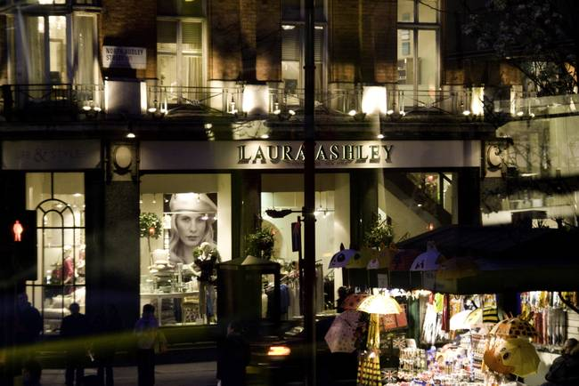 Laura Ashley. London