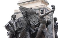 Wings On Statue