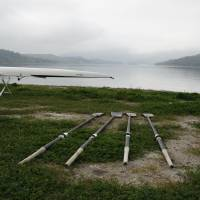 Rowing Oars by Eileen Ringwald