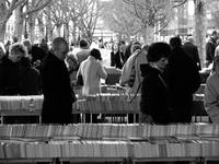Waterloo Bridge Book Market