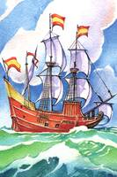 Sailing Galleon