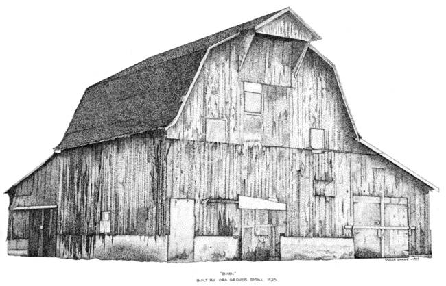 Stunning Barn Drawings And Illustrations For Sale On Fine Art Prints
