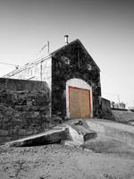 Ballygally boathouse