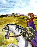 Celtic Irish Horseman