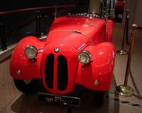 Red BMW Dixi
