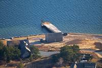 Weir Fish Pier and Twine House Aerial Photo