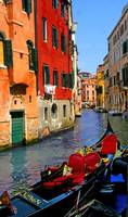 Venice canal beauty and tranquility