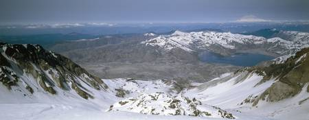 Summit of Mt St Helens