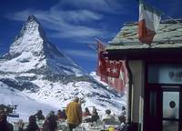 Lunch with a view of the Matterhorn
