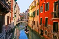 Tranquil Venice canal beauty