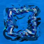 Blue Indigo by Deanne Flouton