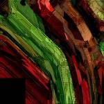 Red Black Green 2 by Deanne Flouton
