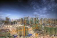 Tianjin Construction Site.