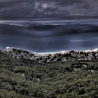 Sublime Point Lookout HDR Panorama Art Prints & Posters by Alexander Kesselaar