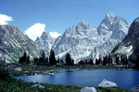 The Grand Tetons and Lake Solitude