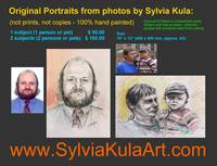 Portraits from your photos