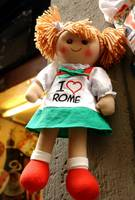 wonders of Italy - souvenirs for tourists..