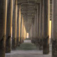 """""""Underneath the HB Pier"""" by DarrenOerly"""