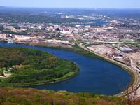 Chattanooga Tennessee & Tennessee River