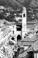 Dubrovnik, Croatia (Black & White)