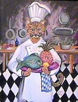 Chef Tom Cat