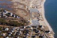 Hardings Beach Aerial - Chatham, Cape Cod