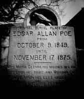 Site of Edgar A. Poe's Original Grave