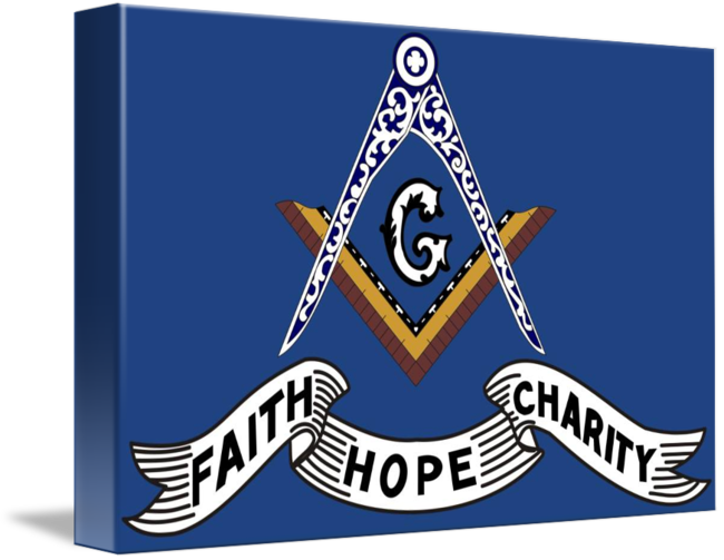 Faith Hope And Charity Banner By Alan Ammann