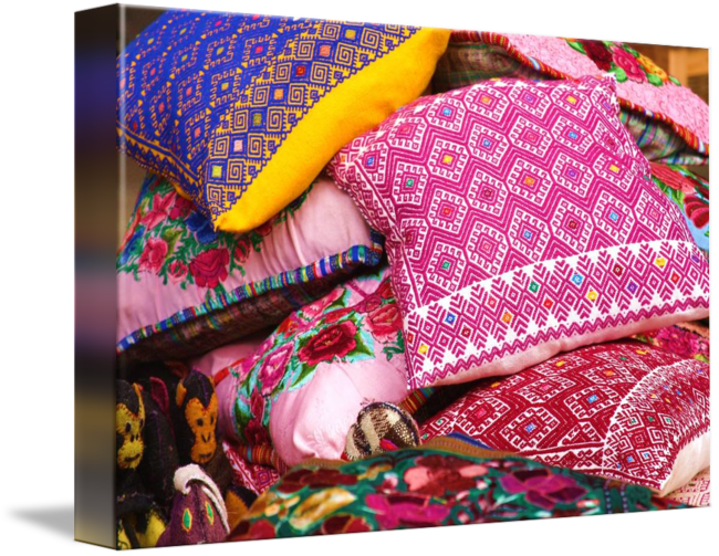 Traditional Mexican Pillows By Danielle Parker