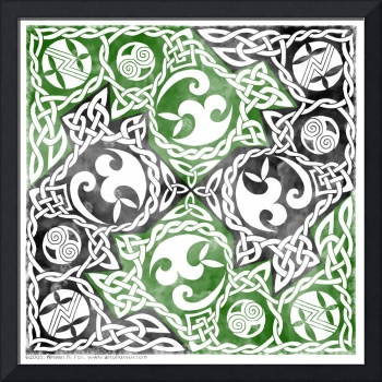 Celtic Puzzle Square, Foxvox