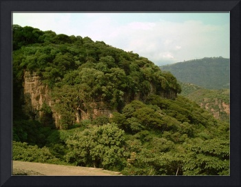 Layered Mountains around Malinalco by Christopher Johnson