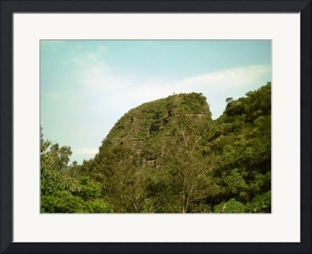 A Mountain Peak near Malinalco by Christopher Johnson