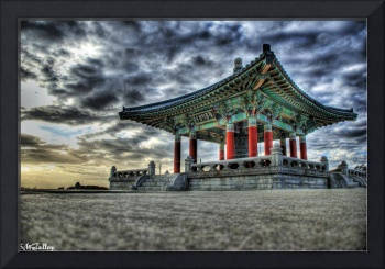 korean bell by Stephen Moore