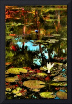 Where Lilies Dance by Cynthia Burkhardt